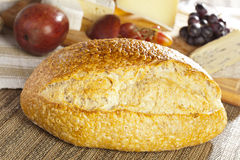 Fresh Homade Rustic French Bread Stock Photo