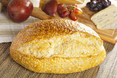 Fresh Homade Rustic French Bread Royalty Free Stock Photos