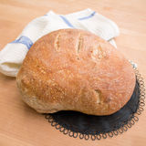 Fresh home baked loaf of bread Stock Photography