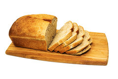 Fresh Home made Brown Bread Royalty Free Stock Image