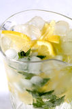 Fresh home made lemonade Stock Photo