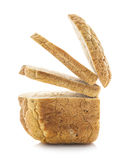 Fresh home-made whole wheat bread Royalty Free Stock Photography