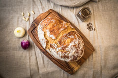Fresh homebaked bread Royalty Free Stock Images