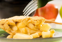 Fresh homemade apple pie Royalty Free Stock Image