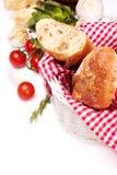 Fresh homemade baguette Stock Photography