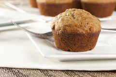 Fresh Homemade Bran Muffins Stock Images