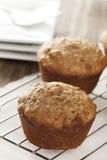Fresh Homemade Bran Muffins Stock Photography