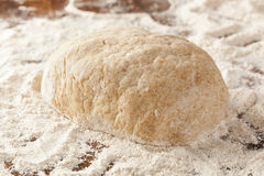 Fresh Homemade Bread Dough Royalty Free Stock Photos