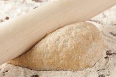 Fresh Homemade Bread Dough Royalty Free Stock Photography