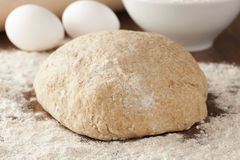 Fresh Homemade Bread Dough Royalty Free Stock Image