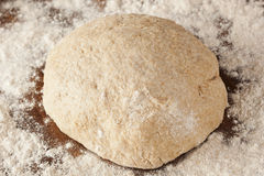Fresh Homemade Bread Dough Royalty Free Stock Photography
