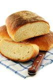 Fresh homemade bread. Royalty Free Stock Photography
