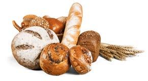 Fresh homemade bread loaves, close-up. Fresh homemade bread close up background close-up closeup stock image