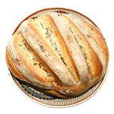 Fresh homemade bread with poppy seeds Stock Photo