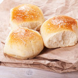 Fresh homemade bread rolls Stock Photography