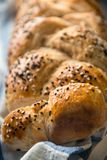 Fresh homemade bread with sesame Stock Photo