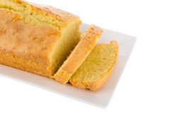 Fresh homemade butter cake Stock Photography