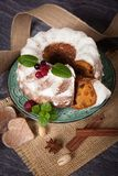 Fresh Homemade cake Royalty Free Stock Images