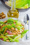 Fresh homemade ceasar salad Stock Images