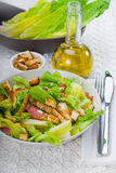 Fresh homemade ceasar salad Royalty Free Stock Photo