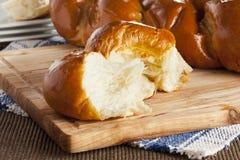 Fresh Homemade Challah Bread Stock Photos