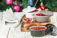 Fresh homemade chicken liver pate rabbit, goose. With cranberry sauce. Gourmet Holiday appetizer. Christmas. New year. Selective focus royalty free stock images