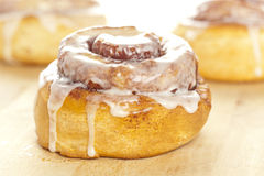 Fresh Homemade Cinnamon Rolls royalty free stock photography