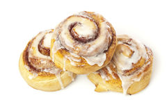Fresh Homemade Cinnamon Rolls Stock Photography
