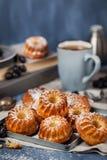 Fresh homemade delicious mini bundt cakes Stock Photography