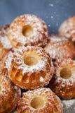 Fresh homemade delicious mini bundt cakes Royalty Free Stock Photo