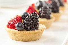 Fresh Homemade Fruit Tart Royalty Free Stock Photos