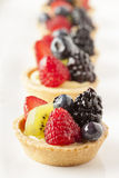 Fresh Homemade Fruit Tart Royalty Free Stock Images