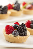 Fresh Homemade Fruit Tart Stock Image