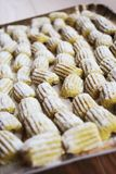 Fresh homemade gnocchi Stock Photo