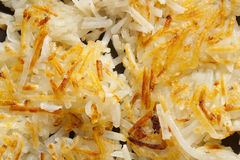 Fresh Homemade Hash Browns Stock Photo