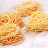Fresh homemade Italian egg pasta Stock Photography