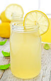Fresh homemade lemonade Stock Photos
