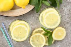 Fresh Homemade Lemonade Stock Images