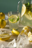 Fresh homemade lemonade. Stock Photos