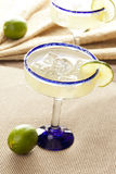 Fresh Homemade Margarita with Lime Stock Image