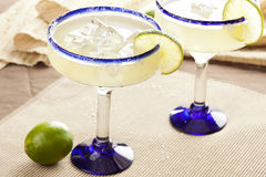 Fresh Homemade Margarita with Lime. On a background Stock Image