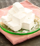 Fresh Homemade Marshmallows Stock Images