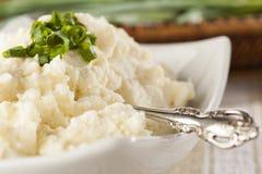 Fresh Homemade Mashed Potatoes Stock Photography
