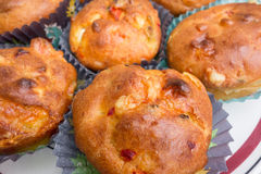 Fresh homemade muffins Royalty Free Stock Photos