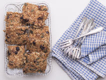 Fresh Homemade Oatmeal Cookies Royalty Free Stock Images