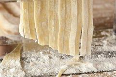Fresh Homemade Pasta Stock Photo