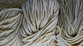 Fresh homemade pasta Royalty Free Stock Images