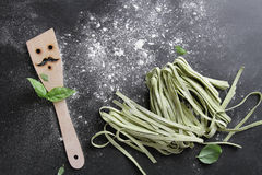 Fresh homemade pasta Royalty Free Stock Photo