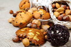 Fresh homemade pastry Stock Image