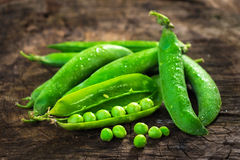 Fresh Homemade Peas Royalty Free Stock Photo